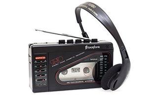 Broksonic Walkman Am / Fm Grabadora De Cassette Estéreo Con