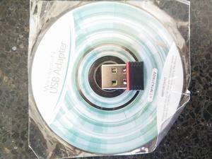 RECEPTOR WIFI USB PARA PC NUEVO SELLADO