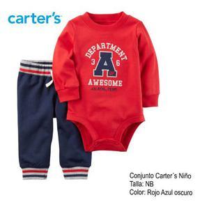 Ropa Para Bebe Cojunto Carters Recien Nacido Niño