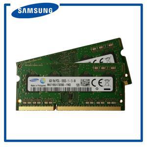 Samsung 8gb 2x4gb Ddr3 Sodimm Portatil Memoria Ram