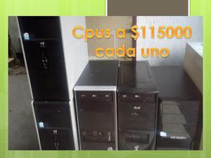 cpus con disco memoria y sus programas