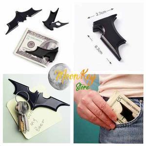 Billetera Batman Clip Magnetico Batman Super Heroes