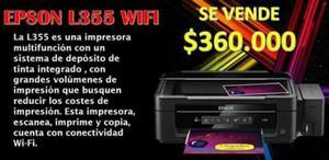 Epson L355 Wifi Tanques de Tinta