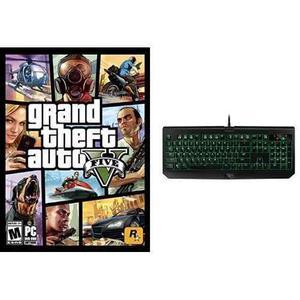 Grand Theft Auto V - Paquete Para Pc Y Teclado