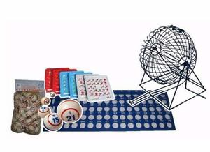 Kit De Bingo Grande Familiar O Para Negocio