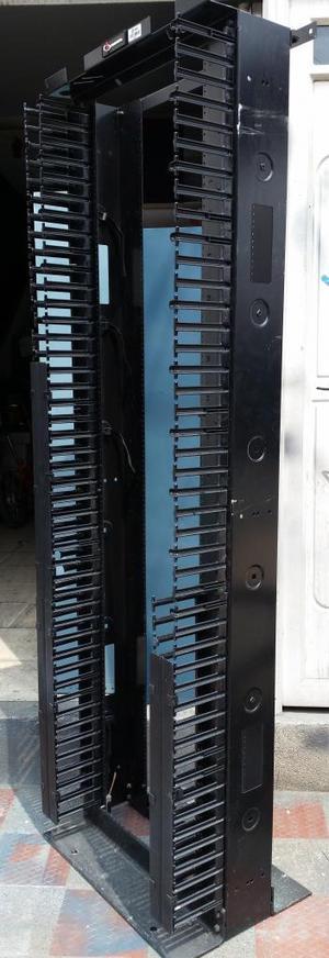 Rack Abierto 45 Ru 2 Mts Con Organizador De Cables