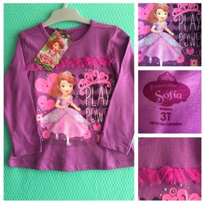 Blusa para niña Princesita Sofia