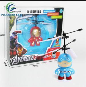 Iron Man Y Capitán América Voladores