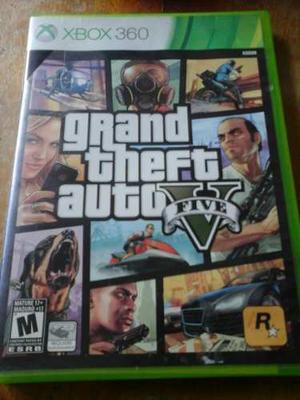 Juego De Xbox 360 Grand Theft Auto Five