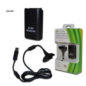 Kit Carga Y Juega Xbox 360 Nuevo 8 Horas Bateria Recargable