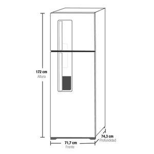 Refrigeración - Nevera No Frost Electrolux 386 Lts Dw42x