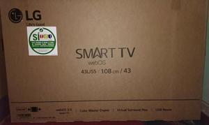 Tv Lg Smart Tv. Nuevo Ref. 43lj55
