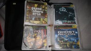 Colección 80 Juegos Xbox Clásico Negro