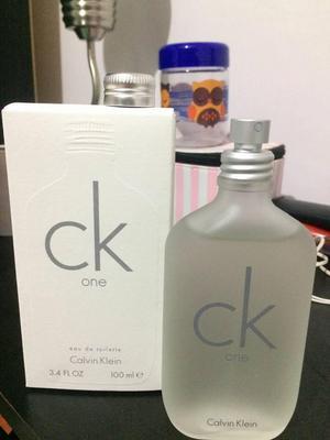 Perfume Loción Calvin Klein Ck One Unisex 100 Ml Original
