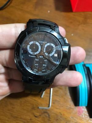Reloj Original Tissot Trace Carbon