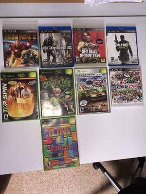 Video Juegos Ps-3 Y Xbox Primera Generación