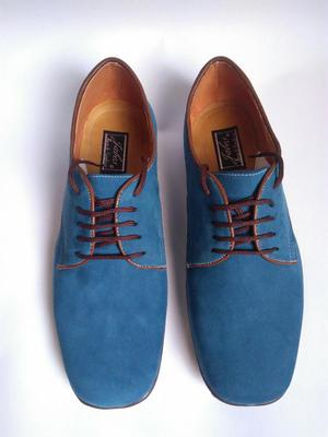 Zapato Cuero Nobuck Tenemos Variaa Talla