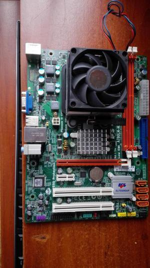 COMBO BOARD ECS DDR3 PROCESADOR AMD PHENOM II X4 B97