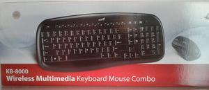 Combo Teclado/mouse Genius Kb
