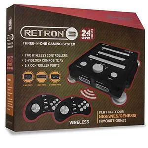 Hyperkin Retron 3 Consola De Juegos 2.4 Ghz Edition Para...