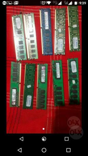 Memoria Ram Ddr 2 de 1gb Y 512mb