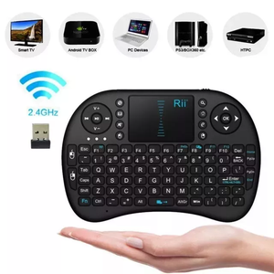 Mini Teclado Touchpad Inalámbrico Android,smart Tv, Tv Box
