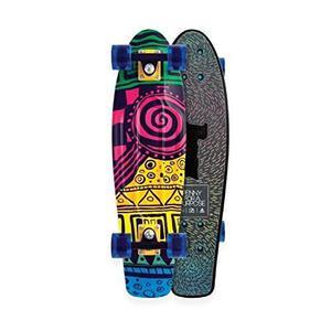 Penny Skateboard Plástico Completo Ethiopia 27 Níquel