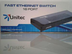 Switch Fast Ethernet 16 Puertos