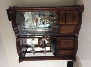 Vendo vitrinas mueble posot class - Vitrinas de madera y vidrio ...