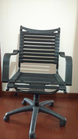 sillas de oficina bandas elásticas.