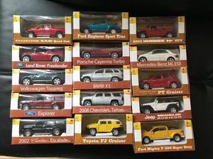 Colecciones de Camionetas 4X4 15 Unids