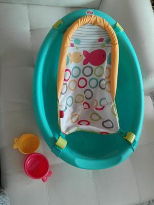 Fisherprice Bañera Tina Bebé 3 Etapas