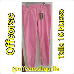 Pantalón Marca Offcorss Niña