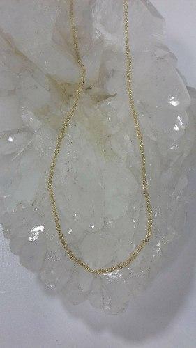 Cadena Oro Amarillo 18k 40cm Ref: