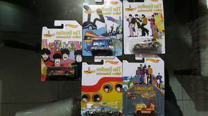 Hotwheels The Beatles Coleccion 5 Carros