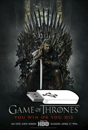 Juego de Tronos Game Of Trones en Usb