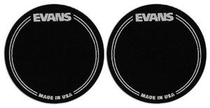 Set De 2 Protectores Evans Eqpb1 Parche Bombo De Bateria