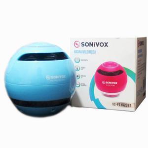 Bocina Parlante Bluetooth Sonivox Radio Fm, Microsd Port Aux