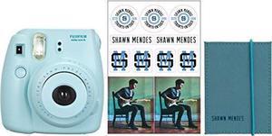 Camara Fujifilm Instax Shawn Mendes Mini 8 Paquete Azul
