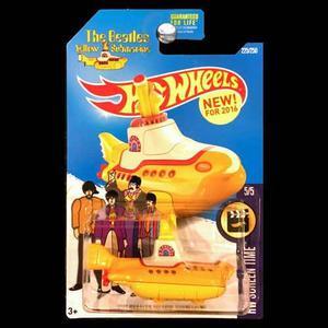 Carro Yellow Submarine De The Beatles . Hotwheels.