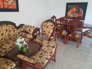 Comedor Y Sala en Madera Fina Aprovecha