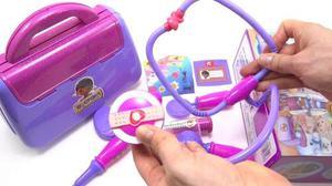 Maletin Set De La Doctora Juguetes Para Niñas 9 Accesorios