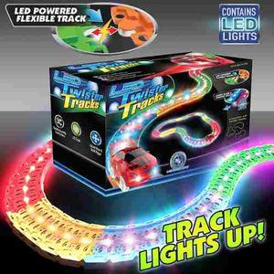Pista Led Twister Tracks Flexible Con Luces