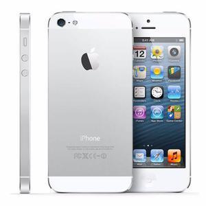 Celualr Libre Apple Iphone 5s Silver 16gb Refurb S.huellas