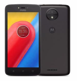 Celular Libre Motorola Moto C 4g Negro 8gb Ram 1gb 5mpx 5 P