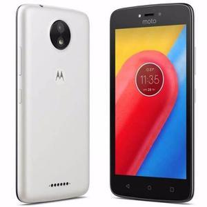 Celular Libre Motorola Moto C Blanco 8gb 5mpx 5 Pulgds Flash