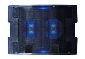 Base Refrigerante Cooling Pad 638a, 5 Niveles 2 Ventiladores