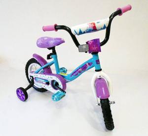 Bicicleta Para Niñas Disney Frozen Aro 12 Bc-