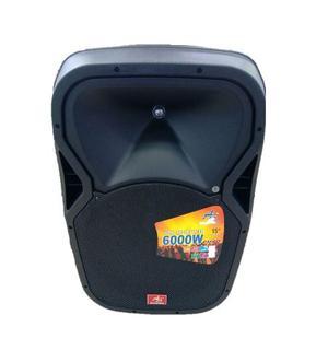 Cabina Parlante De Sonido Recargable 15 Bluetooth Usb Mp3 Fm