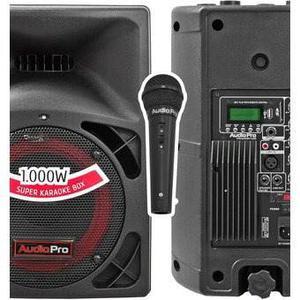 Equipo Minicomponente Con Bluetooth Y Microfono Audiopro Pro